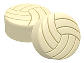 SpinningLeaf: Volleyball Sandwich Cookie Molds | Chocolate Covered ...